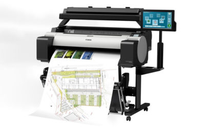 Nieuwe CAD-printer met Scanner